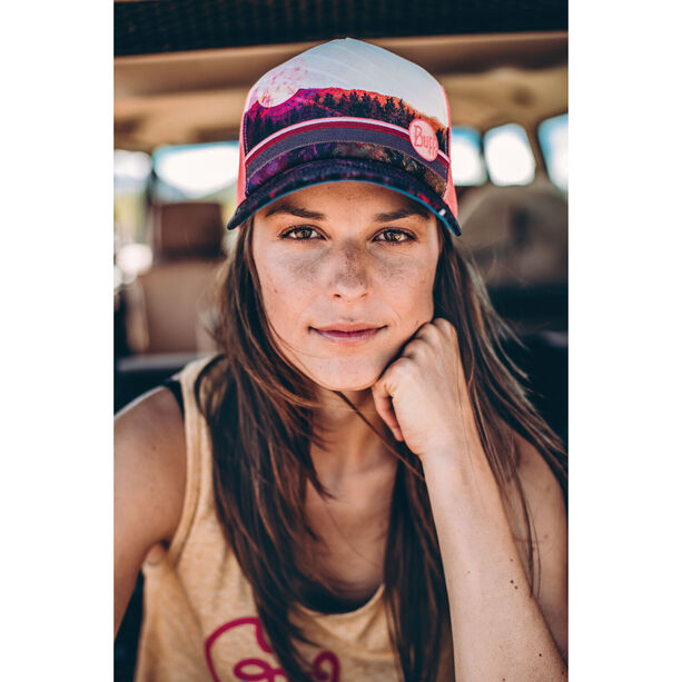 Buff Lifestyle Trucker Cap Damen collage multi