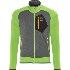 Karpos Odle Fleecejacke Herren apple green/dark grey
