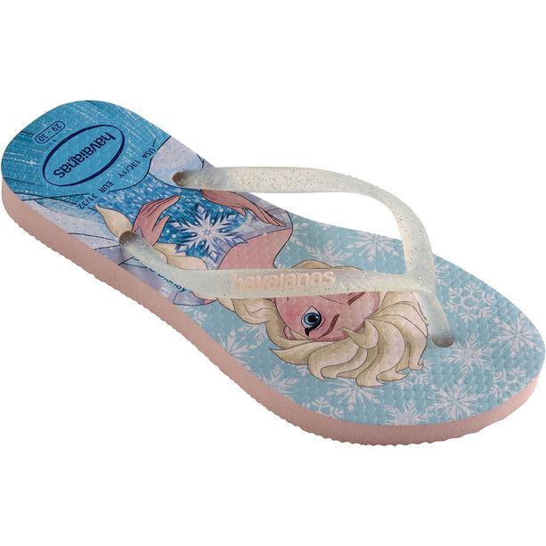 havaianas Slim Frozen Flips Kinder pearl pink