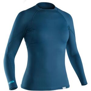 NRS Rashguard LS Shirt Damen moroccan blue moroccan blue