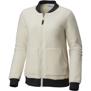 Columbia Feeling Frosty Sherpa Full-Zip Fleecejacke Damen light bisque light bisque