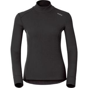 Odlo Active Warm Bl Rollkragen-Langarmshirt Damen black black