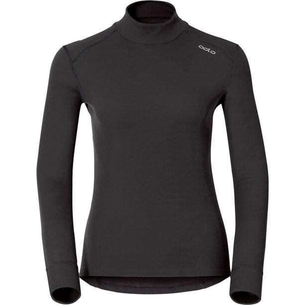 Odlo Active Warm Bl Rollkragen-Langarmshirt Damen black