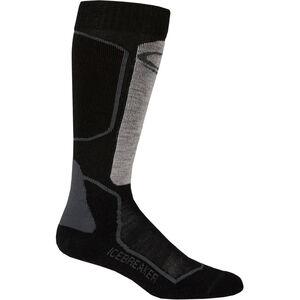 Icebreaker Ski+ Light Over The Calf Socks Herren oil/black/silver oil/black/silver