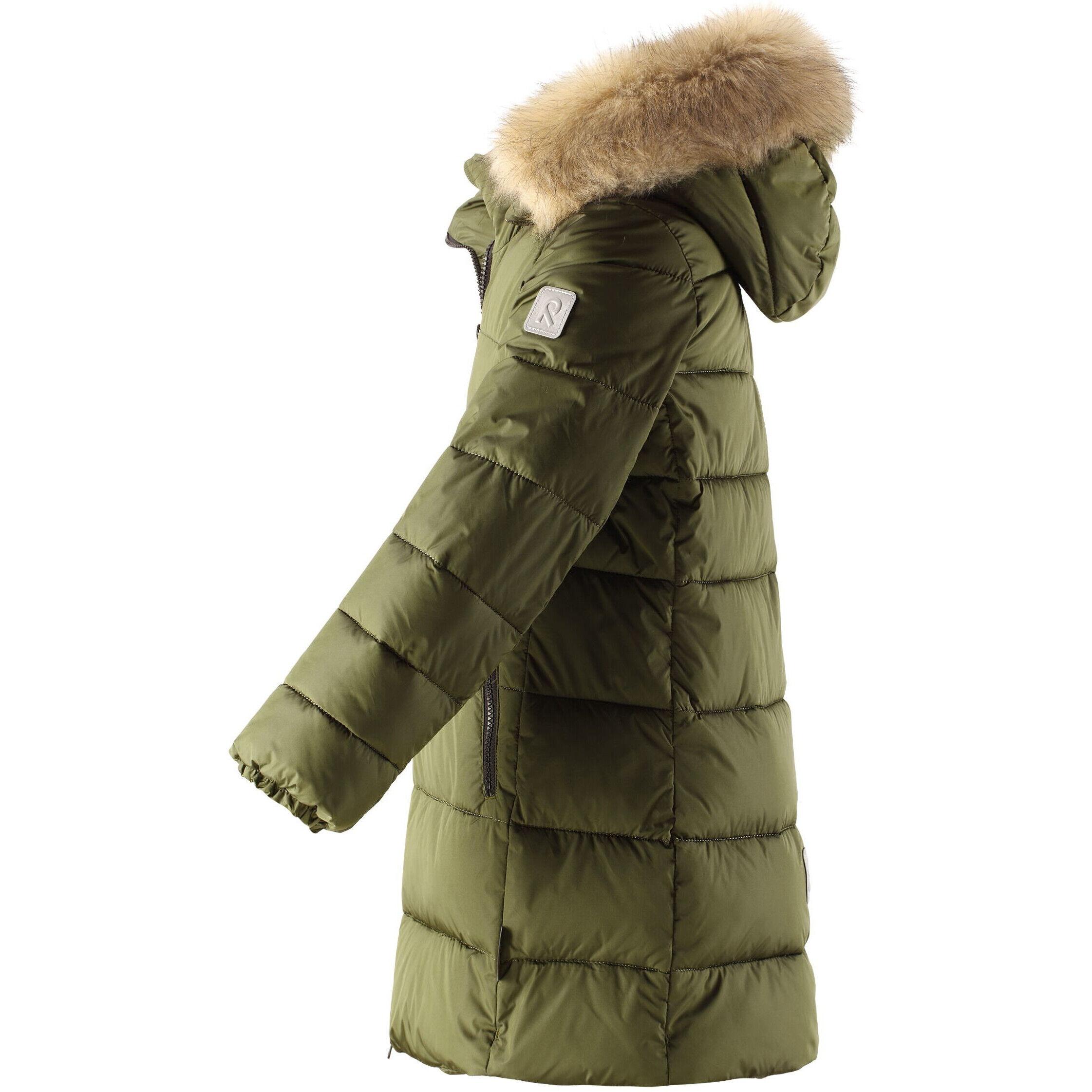 Reima Lunta Winterjacke Mädchen khaki green