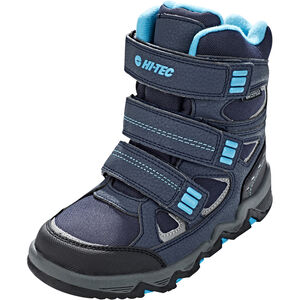 Hi-Tec Thunder WP Shoes Jungen navy/turquoise/black navy/turquoise/black