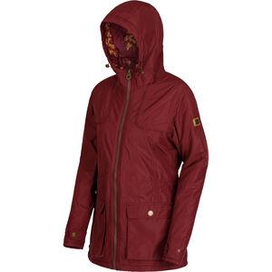 Regatta Bechette Jacket Damen burgundy burgundy