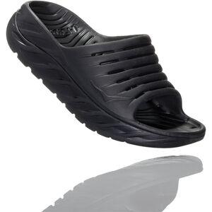 Hoka One One Ora Recovery Slide Sandalen Damen black/black black/black