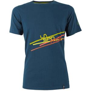 La Sportiva Stripe 2.0 T-Shirt Herren ocean/citronelle ocean/citronelle