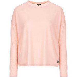 super.natural Yoga Loose Langarmshirt Damen blush blush