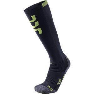 UYN Evo Race Ski Socken Herren anthracite/green lime anthracite/green lime