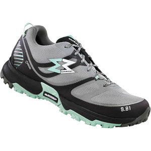 Garmont 9.81 Track GTX Schuhe Damen dark grey/light green dark grey/light green