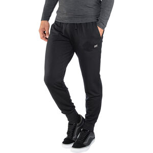 super.natural Essential Cuffed Pants Herren jet black jet black