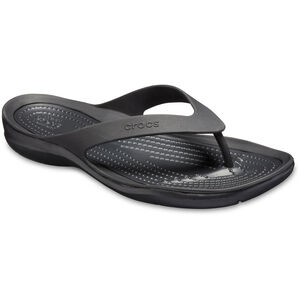 Crocs Swiftwater Flip Sandals Damen black/black black/black
