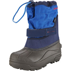 Columbia Powderbug Plus II Boots Kinder collegiate navy / chili collegiate navy / chili