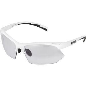 UVEX Sportstyle 802 V Sportglasses white/smoke white/smoke