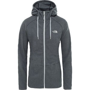 The North Face Mezzaluna Full-Zip Hoodie Damen tnf black stripe tnf black stripe