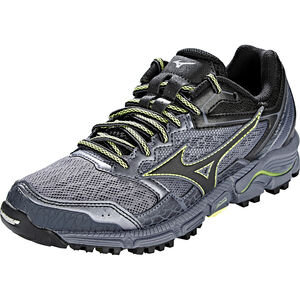 Mizuno Wave Daichi 3 Running Shoes Damen folkstone gray/black/sunny lime folkstone gray/black/sunny lime