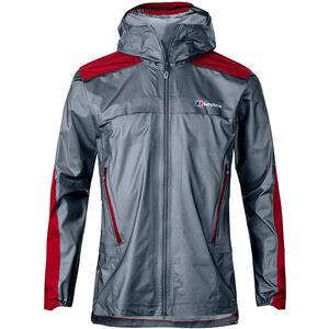 Berghaus GR20 Storm Shell Jacket Herren nickel/haute red nickel/haute red