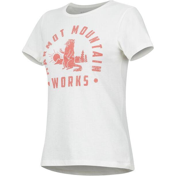 Marmot Chordata Kurzarm T-Shirt Damen turtledove heather
