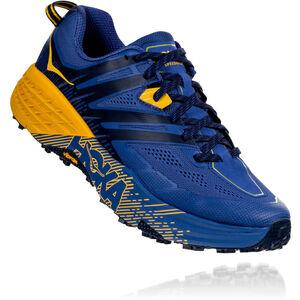 Hoka One One Speedgoat 3 Running Shoes Herren galaxy blue/old gold galaxy blue/old gold