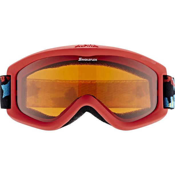 Alpina Carvy 2.0 Goggles Kinder slt s2/red