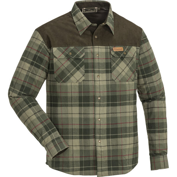 Pinewood Douglas Shirt Herren green/darkgreen