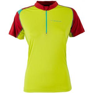 La Sportiva Forward Shortsleeve Shirt Damen sulphur/berry sulphur/berry