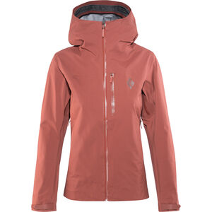 Black Diamond Sharp End Shell Jacket Damen maroon maroon