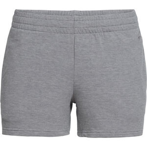 Icebreaker Momentum Shorts Damen fossil/snow heather fossil/snow heather
