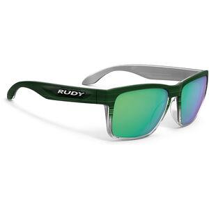 Rudy Project Spinhawk Glasses green streaked matte - polar 3fx hdr multilaser green green streaked matte - polar 3fx hdr multilaser green