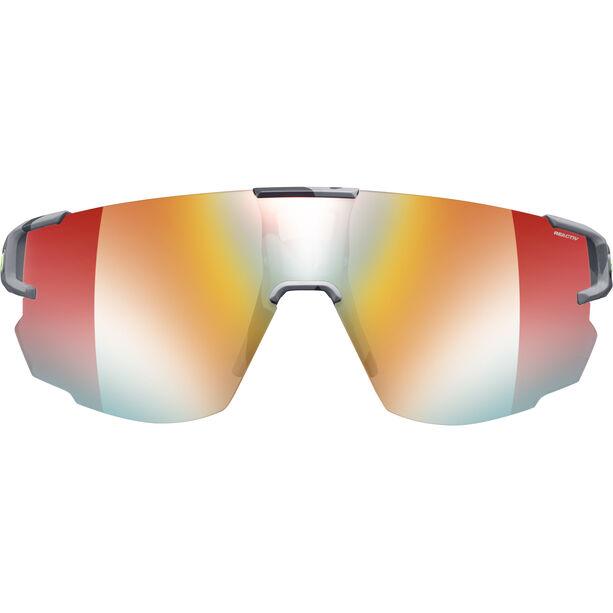 Julbo Aerospeed Zebra Light Red Sunglasses grey/yellow/multilayer red