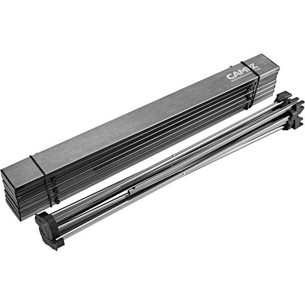 CAMPZ Rolltisch 56x40x40cm Ultraleicht silber