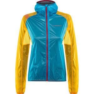 La Sportiva Briza Windbreaker Jacket Damen malibu blue/yellow malibu blue/yellow