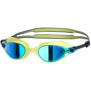 speedo Vue Mirror Goggles lime punch/blue lime punch/blue