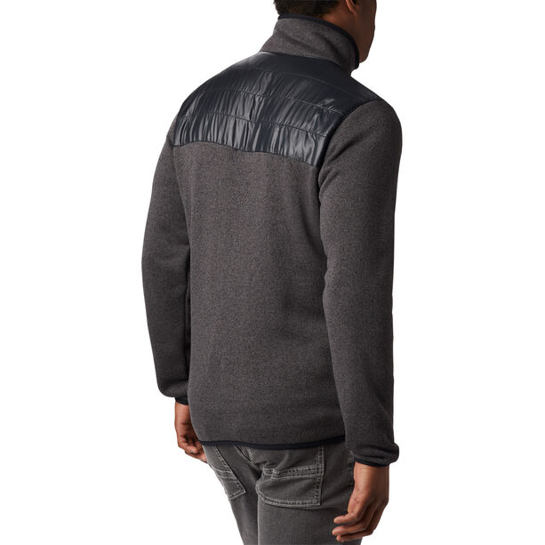Columbia Canyon Point Sweater Fleece Full Zip Jacke Herren black