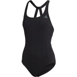 adidas Fitness Solid Econyl Badeanzug Damen black black