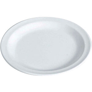 Waca Teller Melamin Flach 23,5cm white white