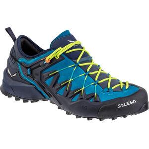 SALEWA Wildfire Edge Shoes Herren premium navy/fluo yellow premium navy/fluo yellow