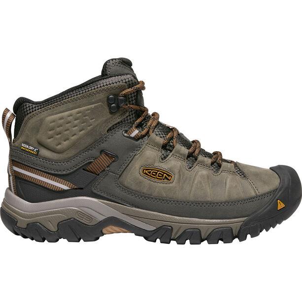 Keen Targhee III Mid WP Shoes Herren black olive/golden brown