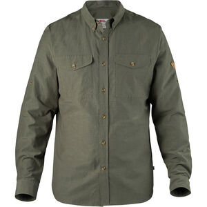 Fjällräven Övik Lite Shirt Herren mountain grey mountain grey