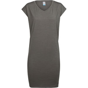 Icebreaker Yanni Tee Dress Damen metal metal