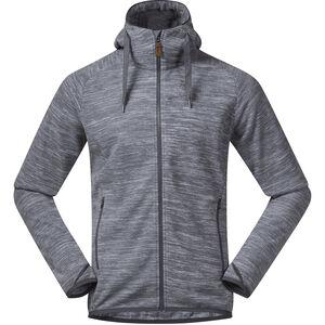 Bergans Hareid Fleece Jacket Herren aluminium melange aluminium melange