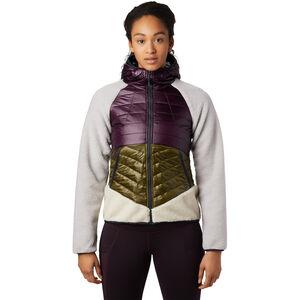 Mountain Hardwear Altius Hybrid Hoody Damen darkest dawn darkest dawn