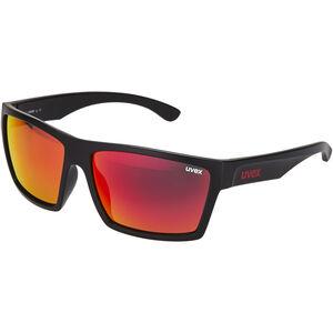 UVEX LGL 29 Glasses black mat/red black mat/red