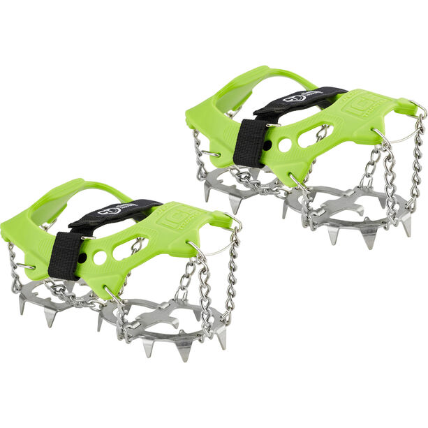 Climbing Technology Ice Traction Crampons Plus M green