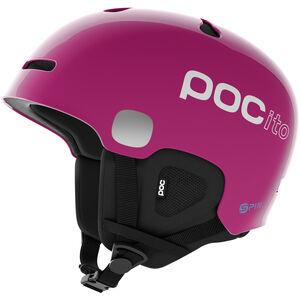 POC POCito Auric Cut Spin Helmet Kinder fluorescent pink fluorescent pink