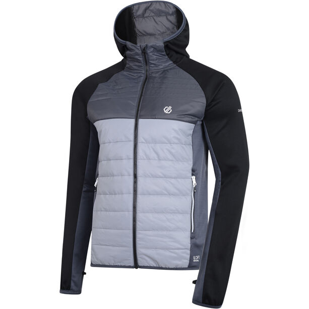 Dare 2b Coordinate Wool Hybrid Jacke Herren trail blaze/black/ebony grey