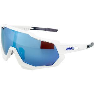 100% Speedtrap HD Multilayer Mirror/Hiper Glasses matte white matte white