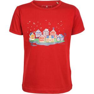Elkline Hometown Kurzarm-Shirt Mädchen chilipepperred chilipepperred